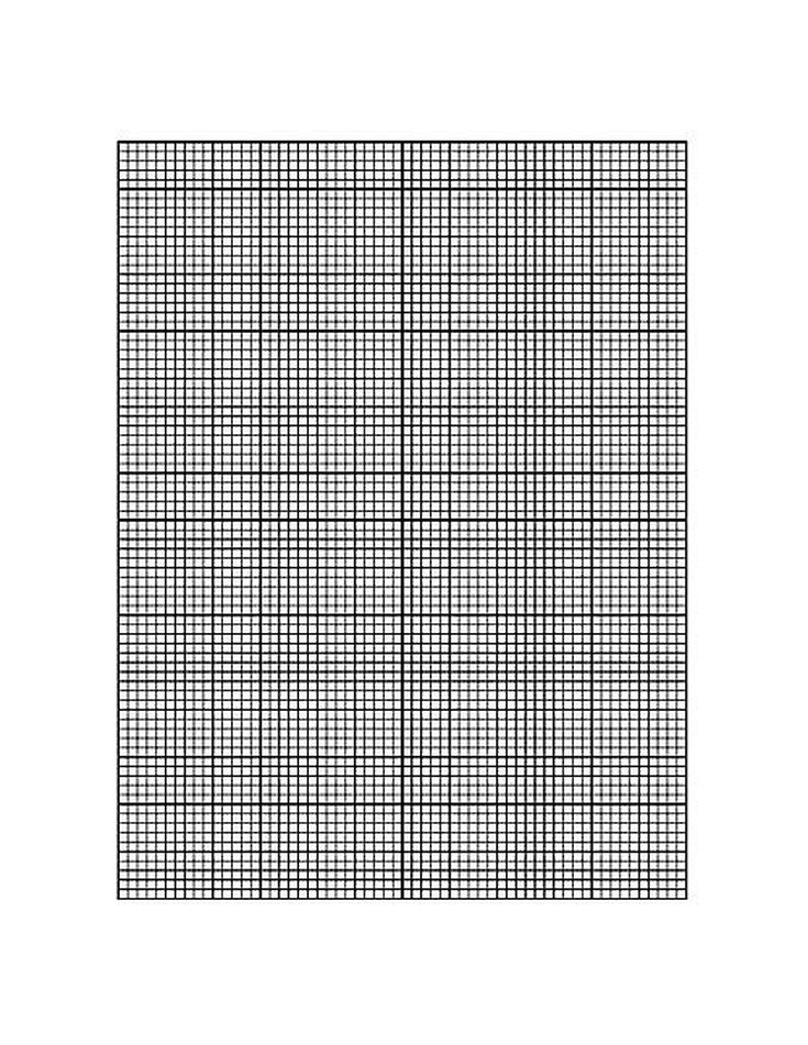 Online Selection of Printable Graph Paper – Graph Paper with Axis