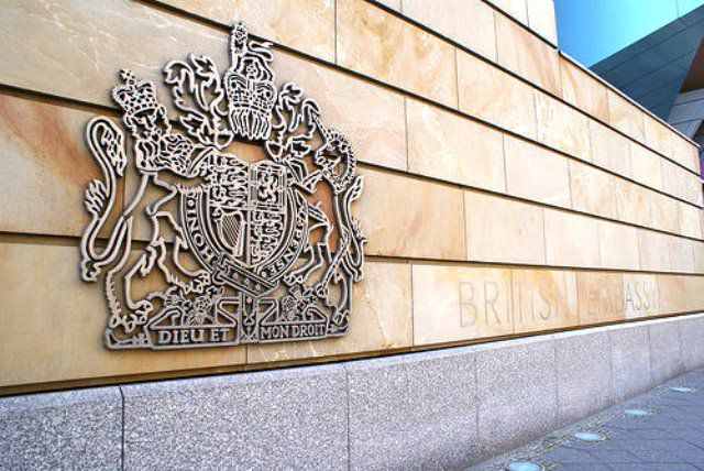 British Embassy in Berlin