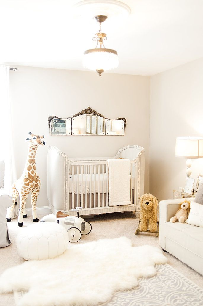 Design Of Baby Room: White Done Right: 19 Wonderfully White Nurseries