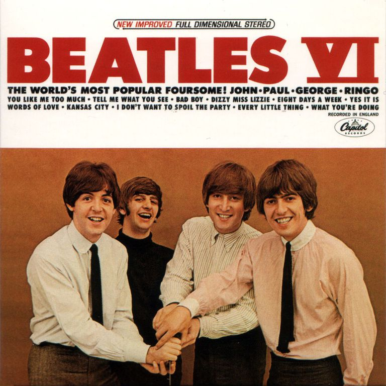 "The Beatles ""Beatles VI"" LP 1965"