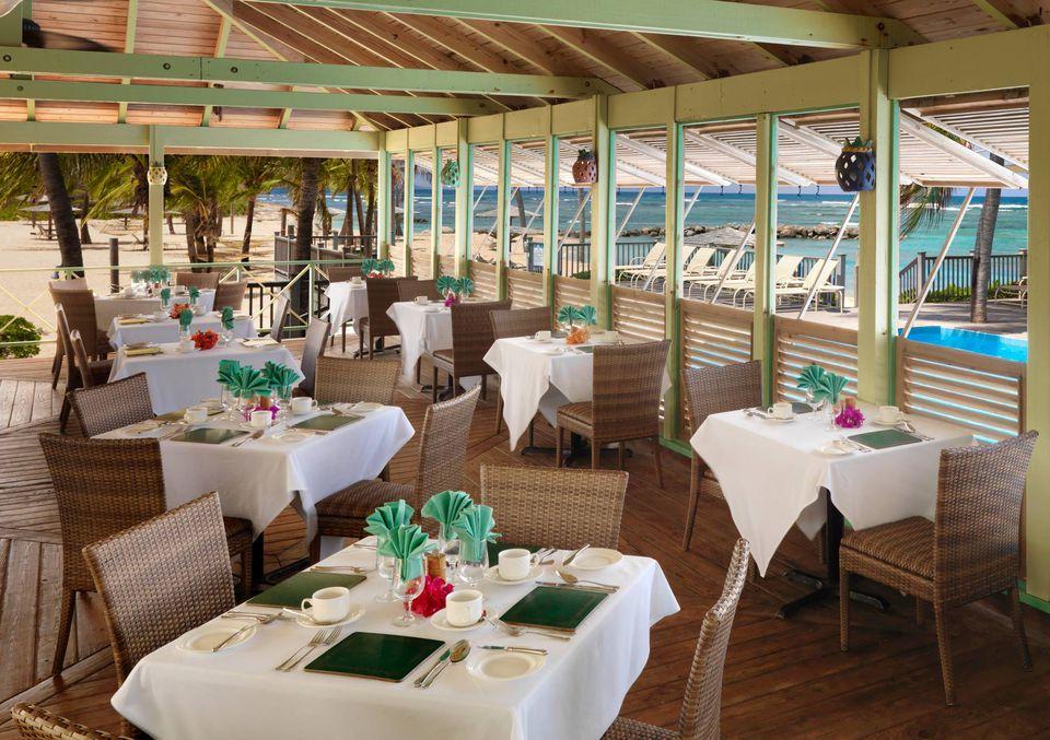 Coconuts Restaurant Nevis