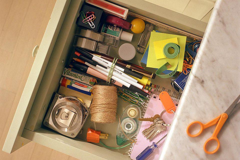 Declutter the junk drawer