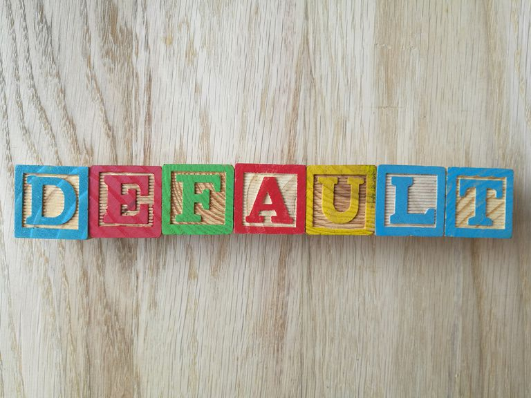 Directly Above Shot Of Default Text Made From Toy Blocks On Table