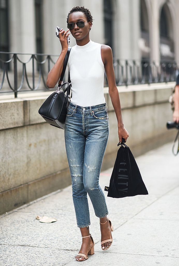 The 10 Best Fitting Pairs Of Jeans For Tall Women