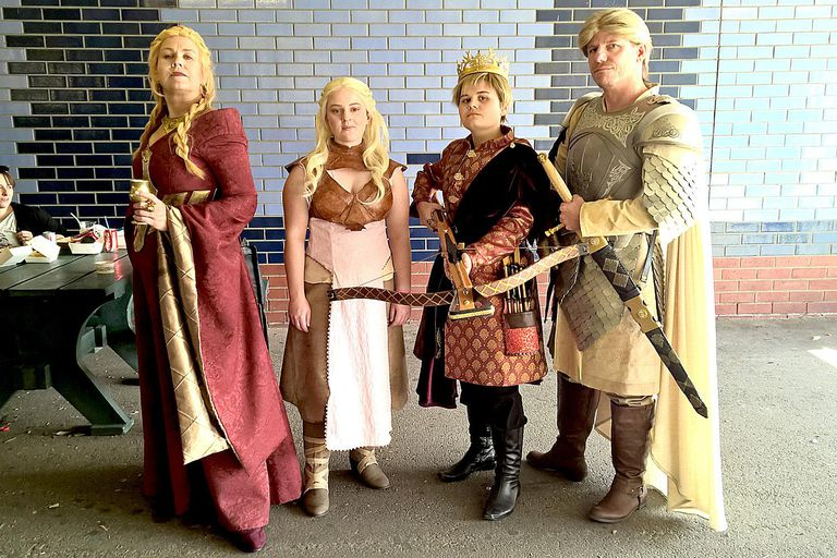 Game of Thrones Cosplay at Melbourne Supanova Pop Culture Expo