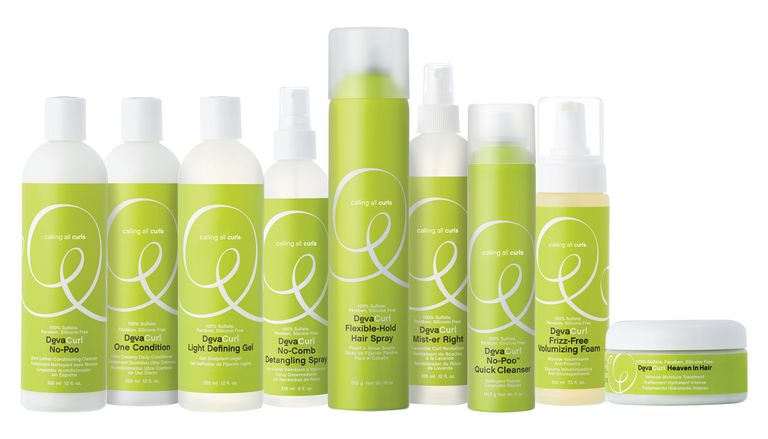 DevaCurl products group