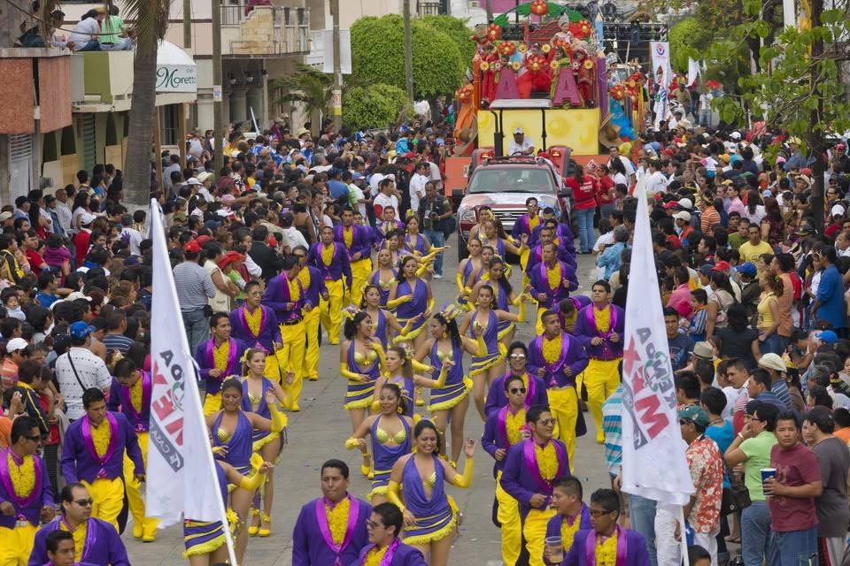 Carnival parade in Veracruz, Mexico