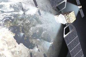 Galileo, satellite, earth orbit