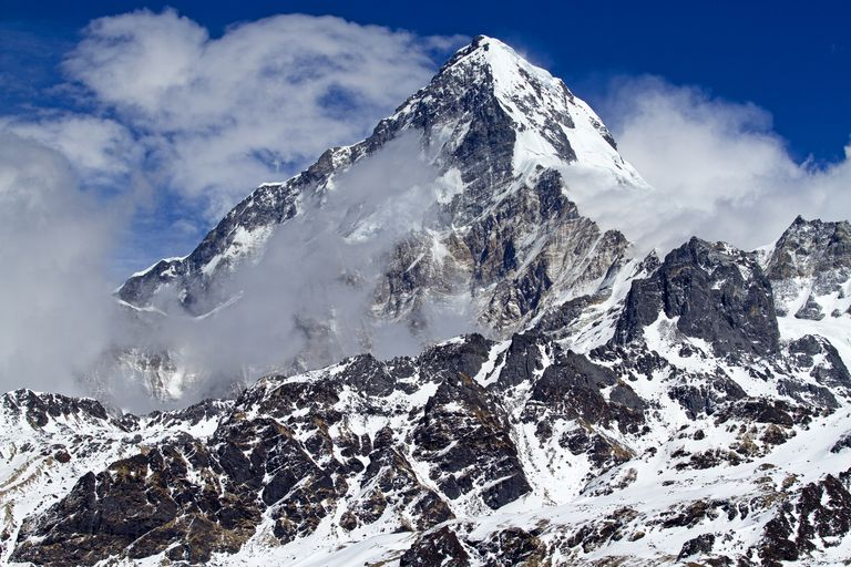 The summit of Annapurna South