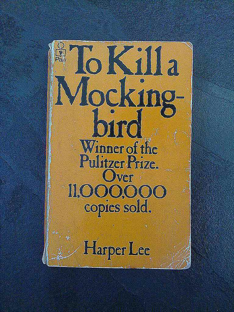 To Kill a Mocking-bird by Harper Lee.