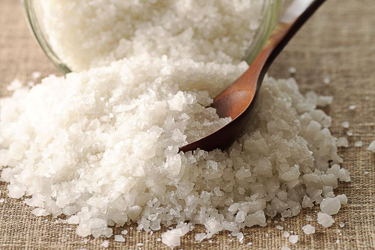 Sodium chloride or table salt is a well-known chemical compound.