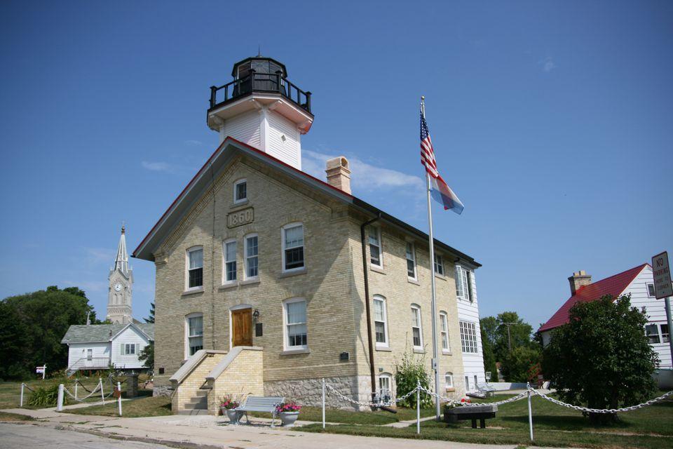 Port WashingtonhHistoric lighthouse