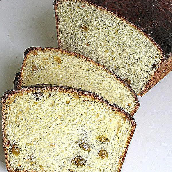 Lithuanian Easter Bread or Velykos Pyragas