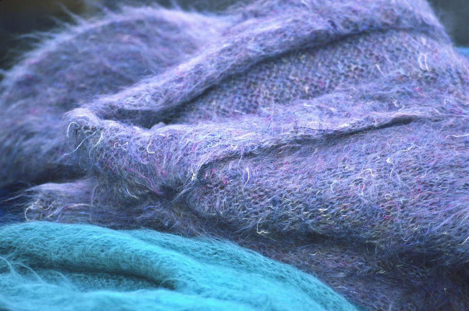 Ireland, Close-up of fabric