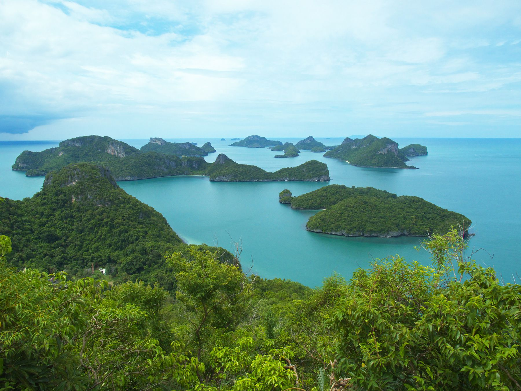 Islands Of The Koh Samui Archipelago