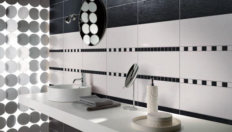 Tile Design Black and White