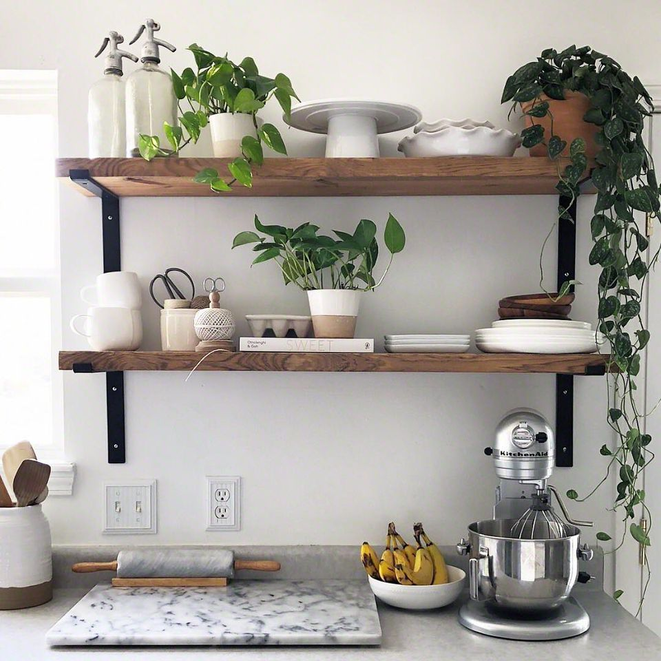 Design For Kitchen Shelves: 10 Beautiful Open Kitchen Shelving Ideas