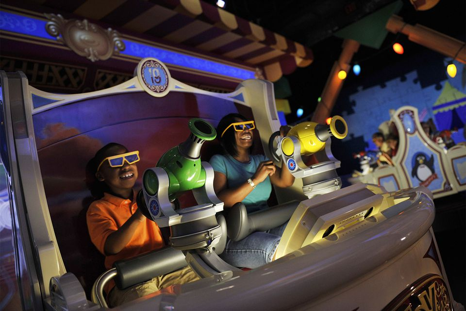 Toy Story Midway Mania at Disney California Adventure