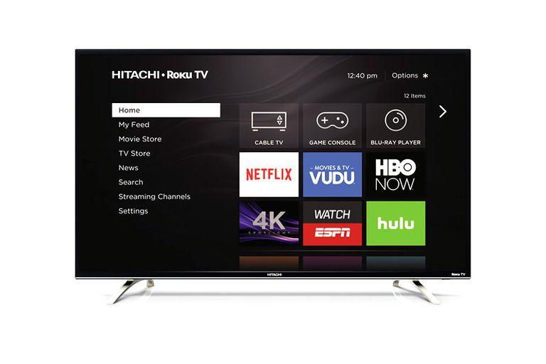 Hitachi 4K Ultra HD Roku TV Example