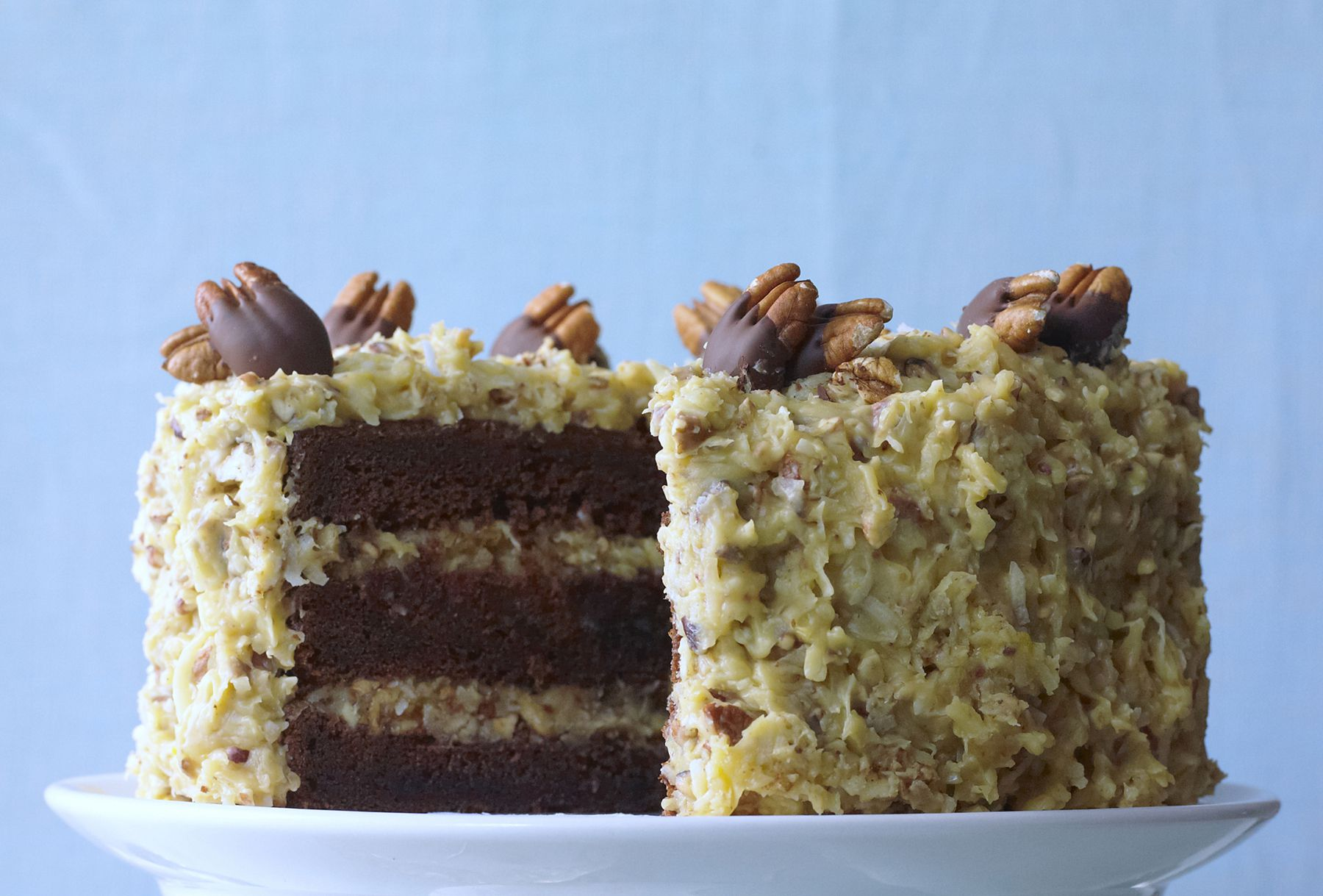 German chocolate layer cake recipe for Living room 5 minute chocolate cake
