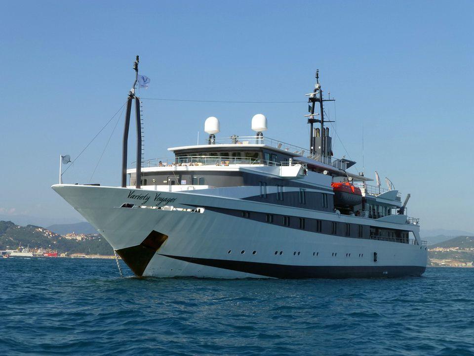 Variety Voyager mega-yacht