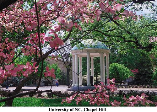 The Old Well on the UNC Campus in Chapel Hill.