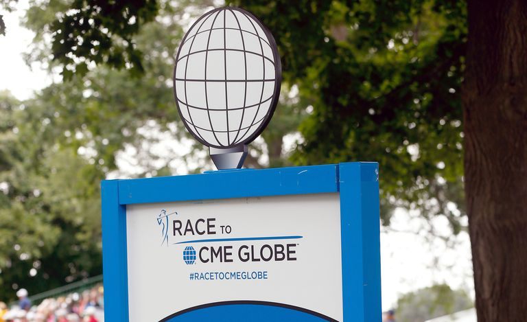Race to the CME Globe logo