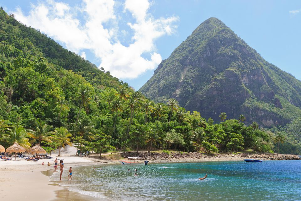Best Beach In St Lucia For Swimming
