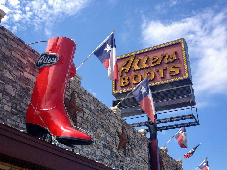 Allens Boots in Austin, TX