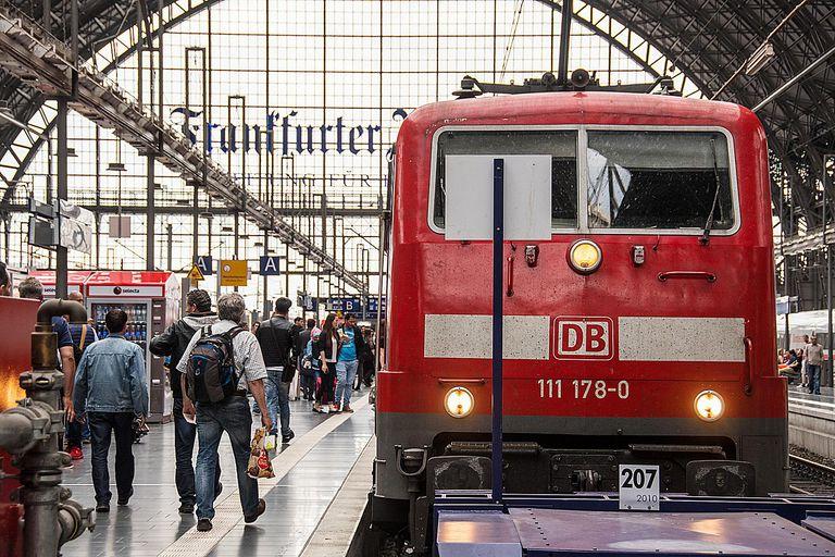 Frankfurt, Germany train station