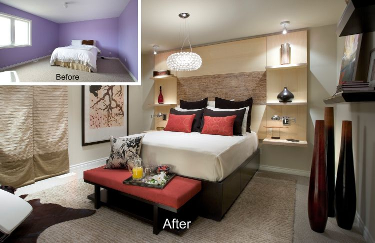 candice olson bedroom designs. Bedroom 1: After Its Makeover Candice Olson Designs I