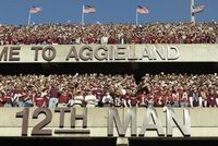 The 12th Man at Kyle Field