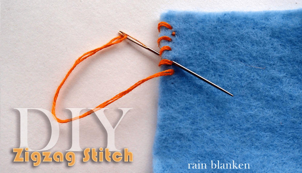 Zigzag Stitch Tutorial - Photos and Instructions