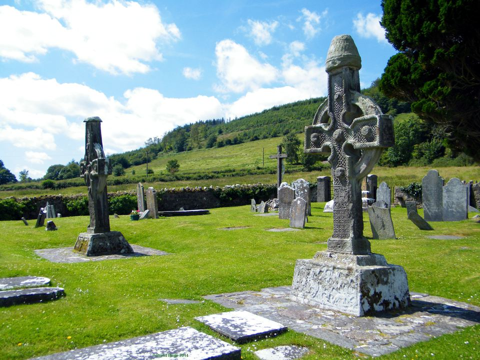 Ahenny High Crosses in County Tipperary