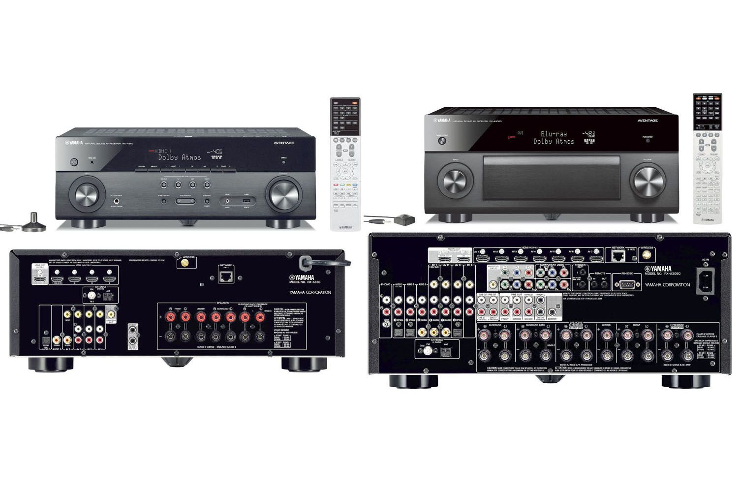 yamaha 39 s aventage rx a60 series home theater receivers. Black Bedroom Furniture Sets. Home Design Ideas