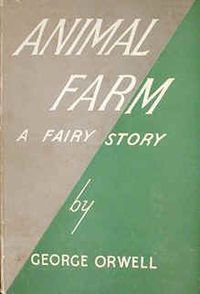 reading report animal farm by george 2018-6-3 george orwell's 1984 is one of the most  constantly under surveillance and forced to report the  george orwell also wrote animal farm,.