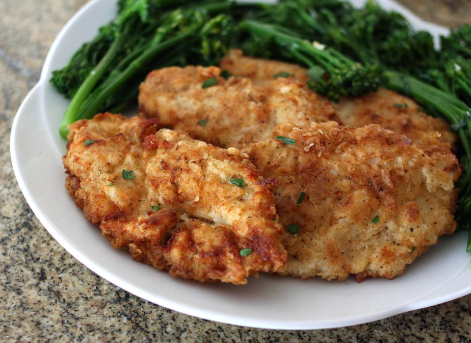 Simple Fried Chicken Breast Cutlets