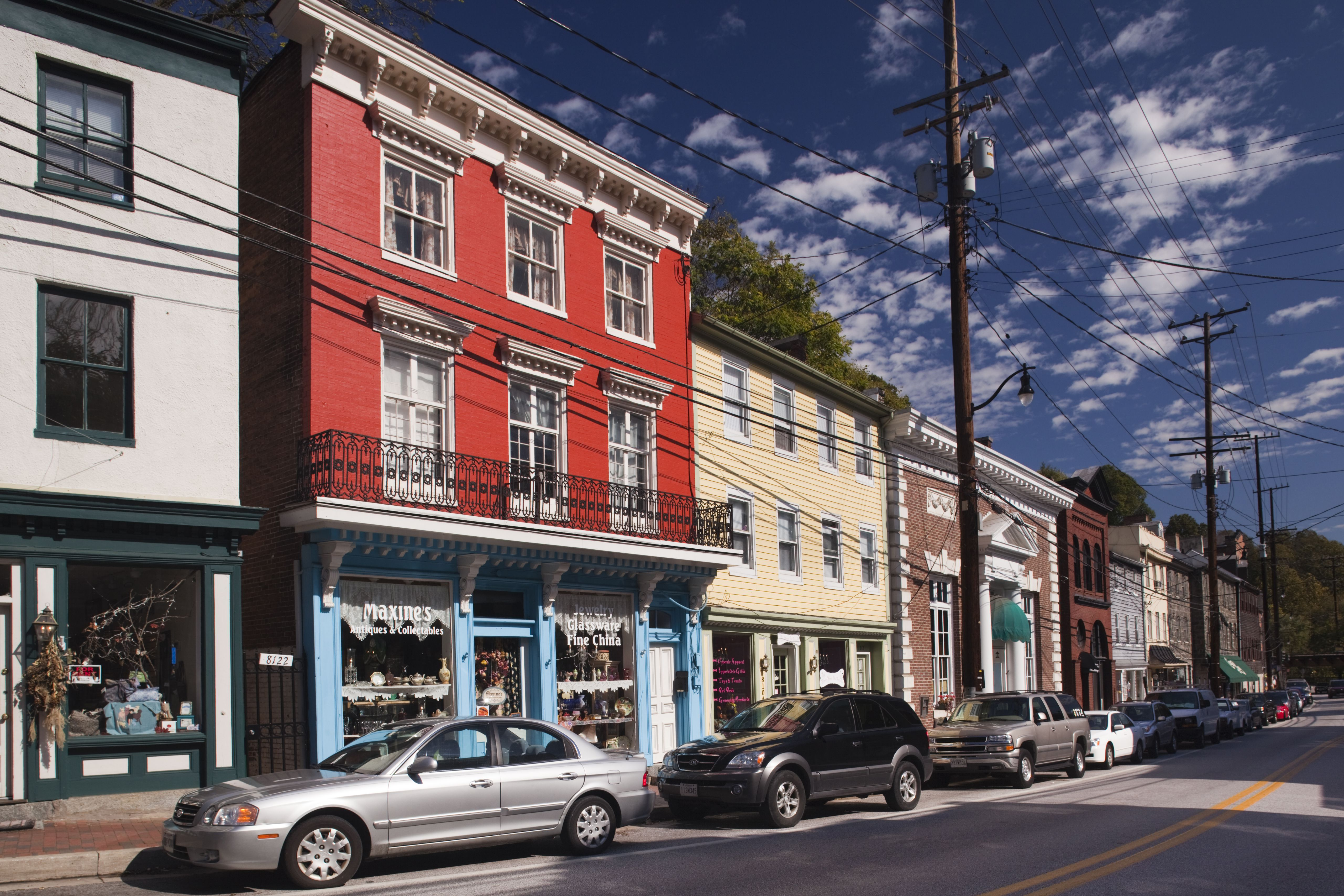 former mill town now antique center ellicott city maryland usa 58e3a6583df78c5162f6815b