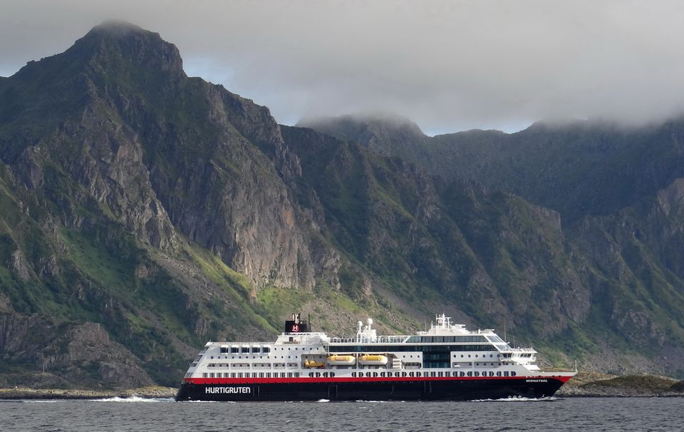 Sailing the northern and western coasts of Norway on the Hurtigruten MS Midnatsol