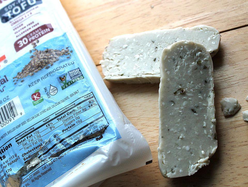 "Hemp tofu - also called ""hemp-fu"""