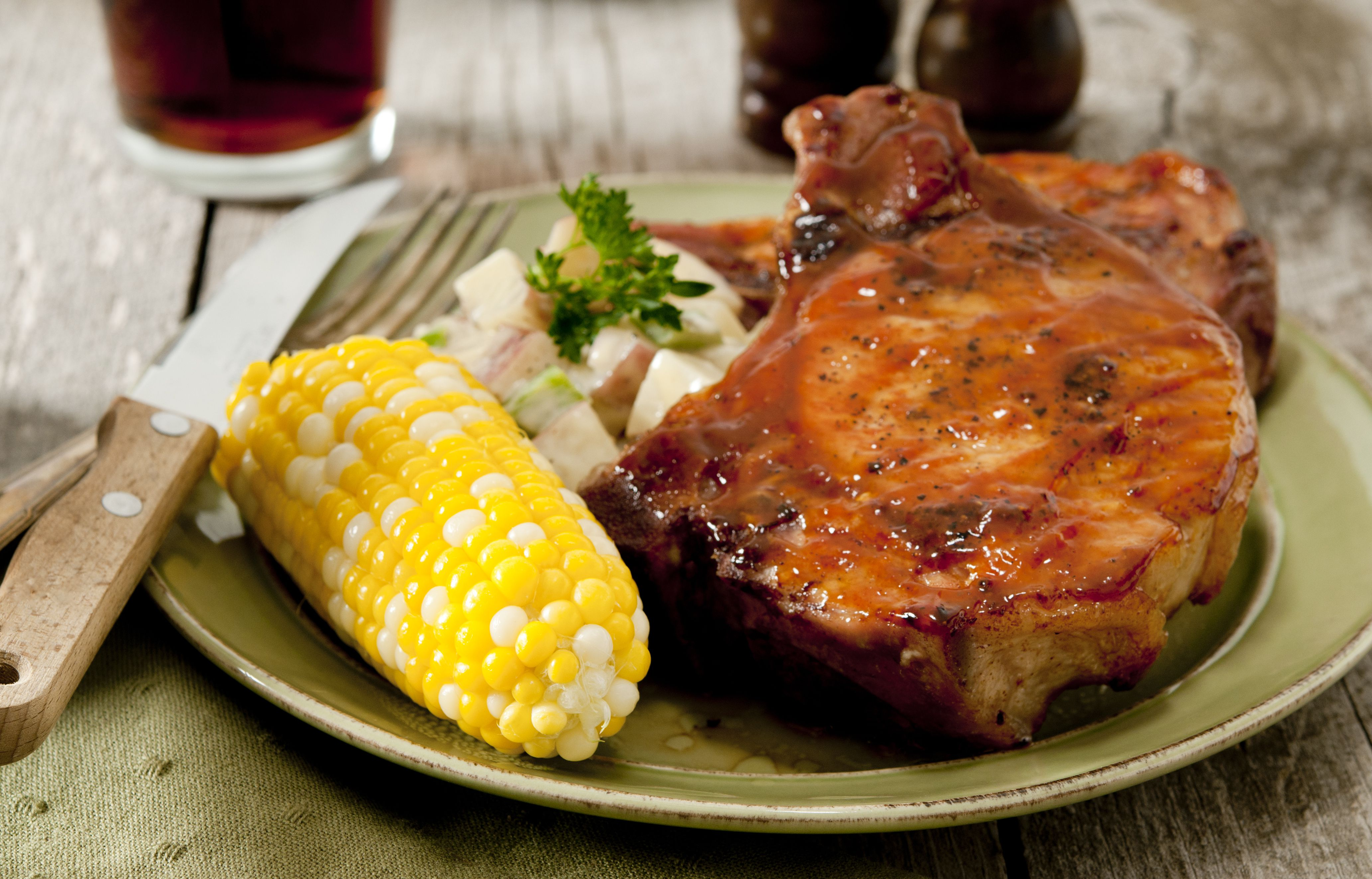 Baked Pork Chops With Barbecue Sauce Recipe