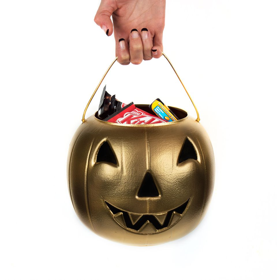DIY Halloween Candy Bucket