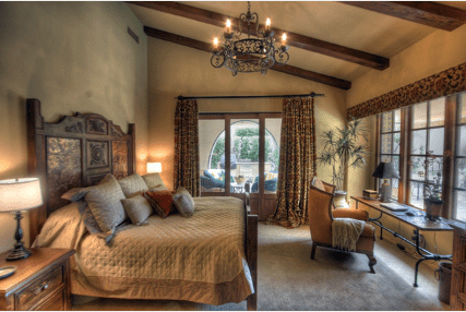 tuscan style bedroom furniture. Rustic Wooden Beams, Plaster Wall Finishes, Tuscan Bedroom Furniture, Wrought Iron Chandeliers Style Furniture T