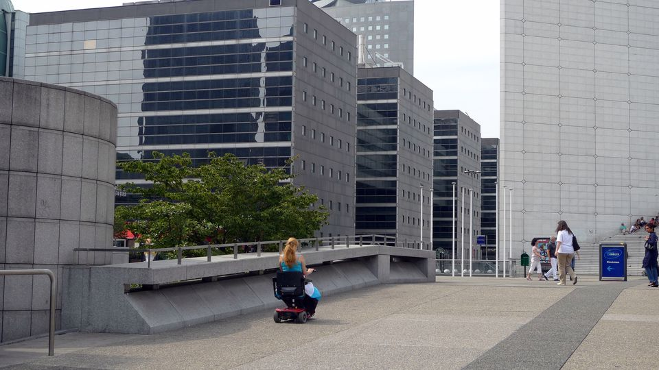 Certain areas around Paris, such as the La Defense business district, are more accessible.