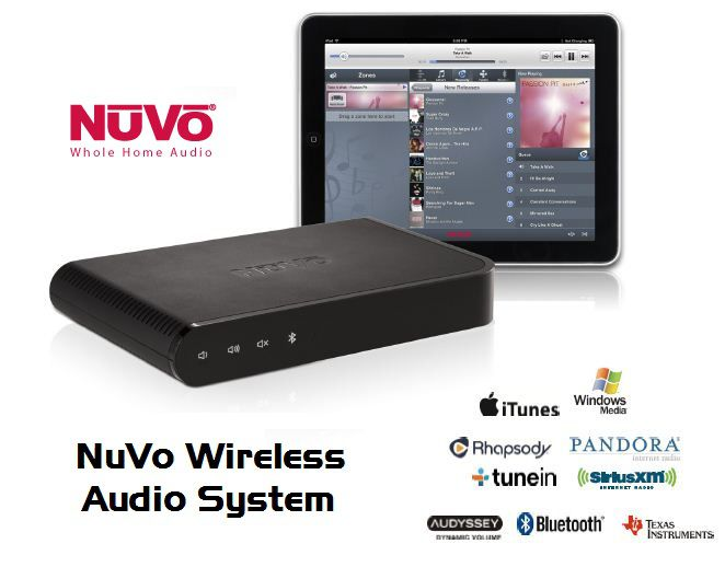 NuVo Whole Home Audio System