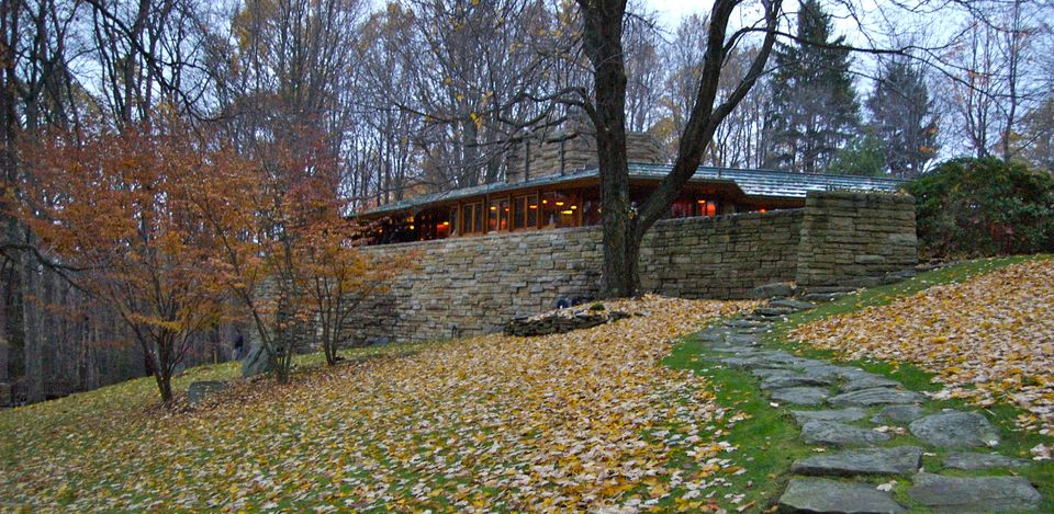 Kentuck Knob in Chalk Hill, Pennsylvania