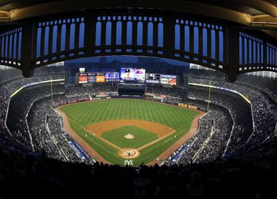 New york baseball stadiums past and present yankee stadium 2009 malvernweather Gallery