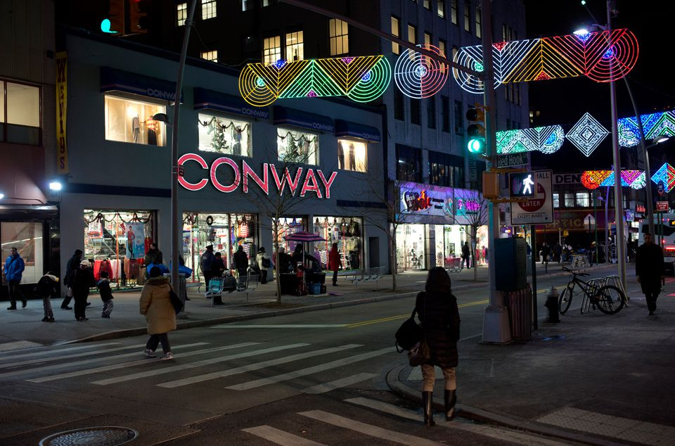 More than retailers operate sales outlets on about eight blocks of Fulton Street. Anchored by Macy's department store, the thoroughfare stretches on an east-west .