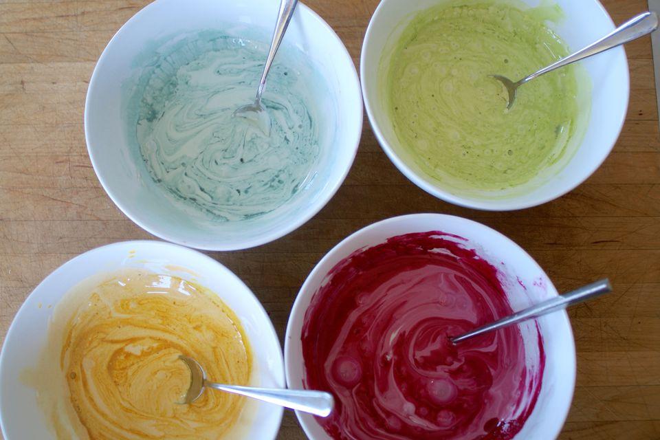 DIY Natural Food Dyes