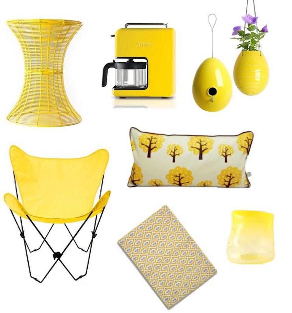 yellow color feng shui tips